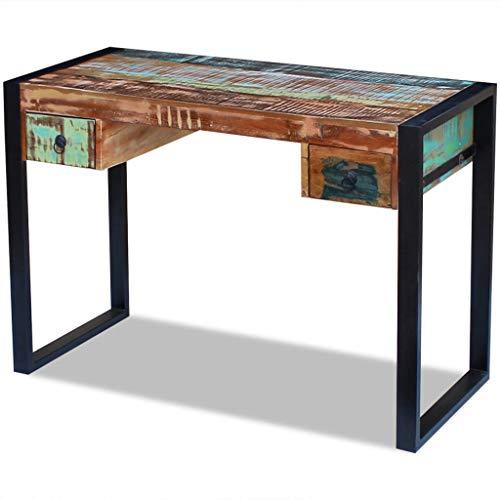 escritorio vintage con cajones