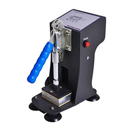 PAKASEPT Heat Press Machine for Rosin 2x3 inch Máquina de Colofonia Máquina de prensa de calor, doble placa de aluminio prensa de calor con 1000lbs de presión máxima 220V (3g cada vez)