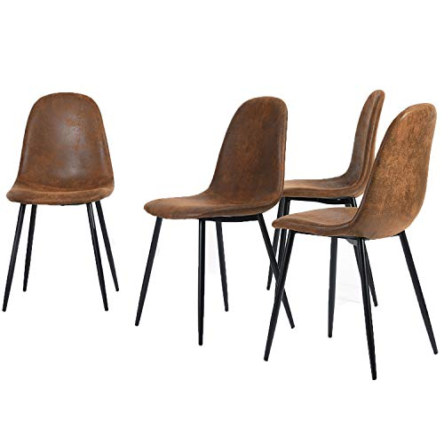 Set de 4 sillas de Comedor Scandinavian