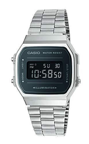Casio Smart Watch Armbanduhr A168WEM-1EF reloj casio water resist