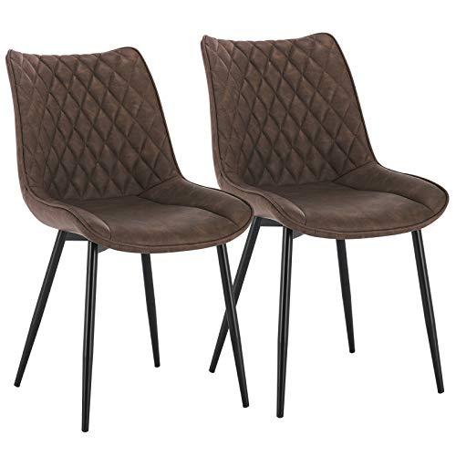 sillas de comedor nordico tapizadas en cuero estilo vintage