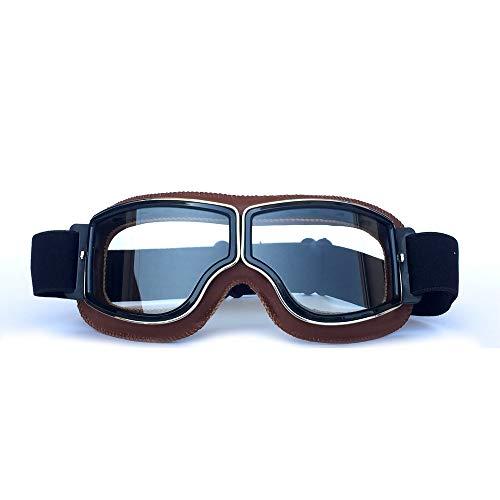 gafas de moto retro