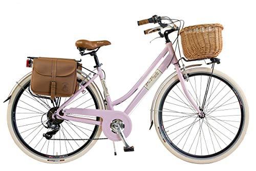 bicicleta vintage retro de mujer