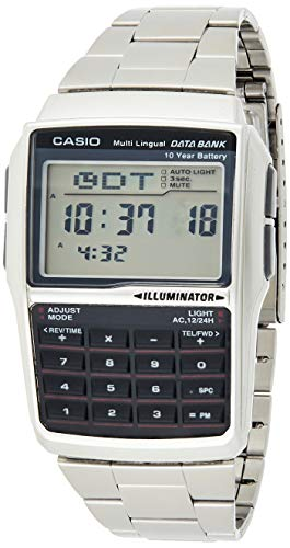 Casio Reloj de Pulsera DBC-32D-1AES. reloj casio calculadora acero