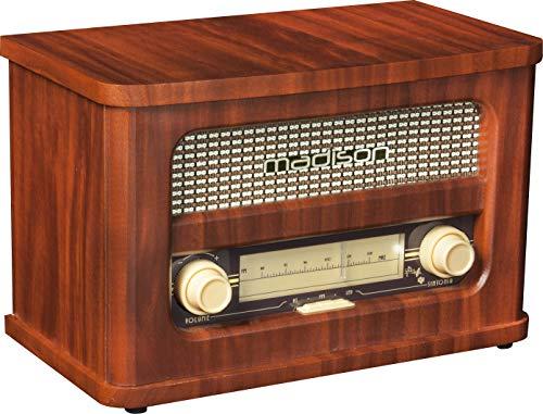 Madison Mad Vintage - Radio con Bluetooth