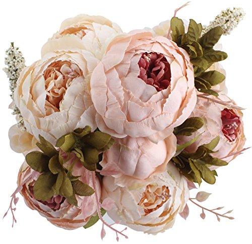 ramo de peonias vintage para bodas