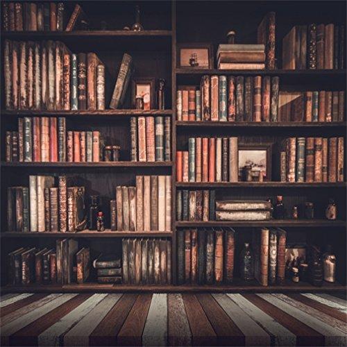 fondo fotografico estantería libro vintage