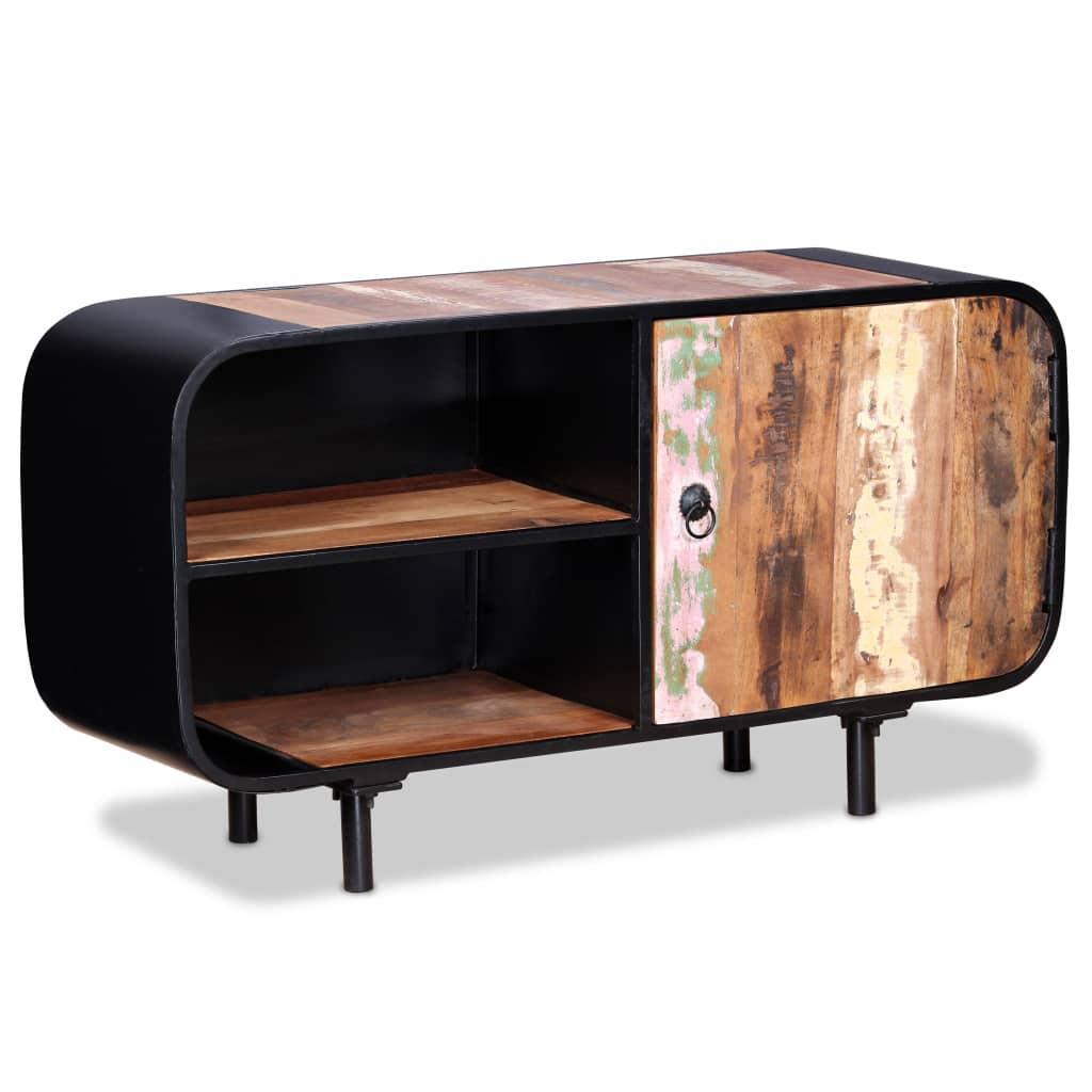 vidaXL Mueble para TV de madera reciclada 90x30x48 cm